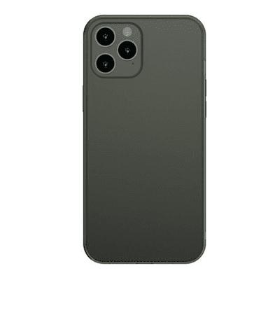 BASEUS Frosted ovitek za iPhone 12 Pro Max temno zelena