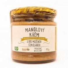 Božské oříšky Mandlový krém s bio mléčnou čokoládou 190 g