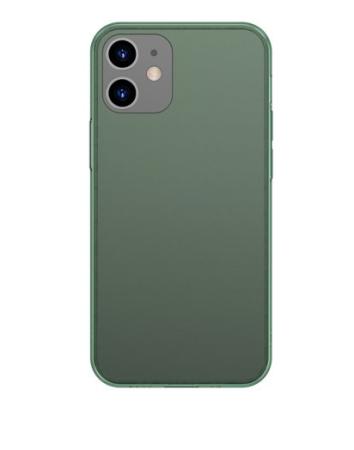 BASEUS Frosted ovitek za iPhone 12 Pro / iPhone 12 temno zelena