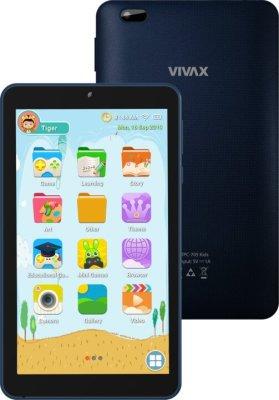 Tablet Vivax TPC-705 Kids, nastavení pro děti, ochrana očí