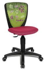 Topstar Dětská židle S'COOL NIKI motiv květiny