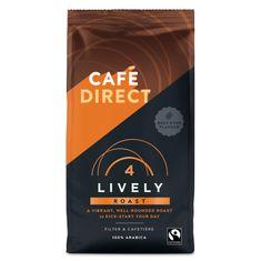 Cafédirect Lively őrölt kávé karamell aromával 227g