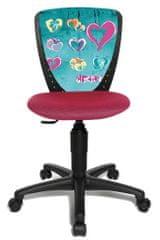 Topstar Dětská židle S'COOL NIKI motiv srdce