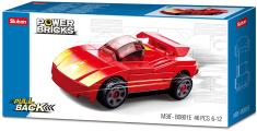 Sluban Power M38-B0801E Natahovací auto Červený sporťák