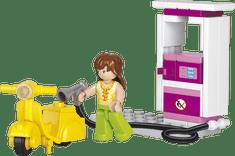 Sluban Girls Dream M38-B0518 Benzínka se skútrem