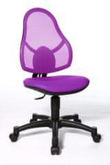 Topstar Open Art Junior židle fialová
