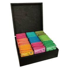 London Tea Company luxusní kazeta mix sáčkových čajů 135ks - 9 druhů