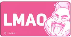 UVI Inferno GallaSandalla Pink Edition podloga za miš, XXL
