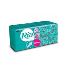 Ria Dámske hygienické vložky so sviežou vôňou Classic Normal Plus Deo 10 ks