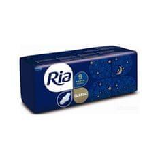 Ria Dlhé hygienické vložky s krídelkami Ria Classic Night 9 ks