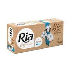 Ria Dámske BIO / vegan tampóny Organic Super 16 ks