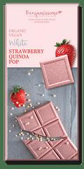 Bio Benjamin Čokoláda ~ jahody a quinoa (+ živé kultúry) (70 g)