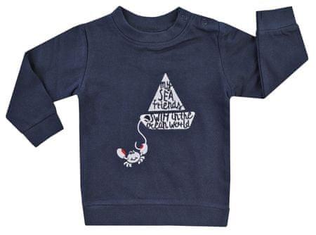 Jacky 1311310 Ocean Child dječja majica od organskog pamuka, tamno plava, 80