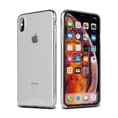 ovitek za iPhone 11, silikonski, prozoren z bleščicami