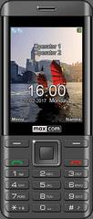 MaxCom Classic MM236 mobilni telefon, črno-srebrn