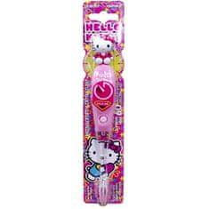VITALCARE CZ Blikajúce kefka s časovačom 1 minúty Hello Kitty firefly