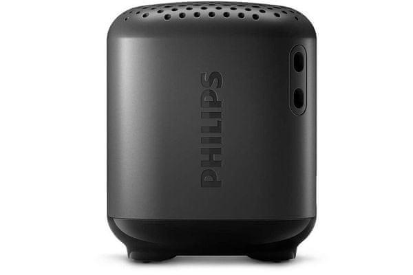 Eleganten prenosni brezžični zvočnik Bluetooth 5.0 Philips TAS1505 Čisti zvok Glasba Moč 2,5 W Polnjenje Do 8 ur Polnilna LED lučka Majhna velikost IPX7 Odpornost na vodo 480 mAh