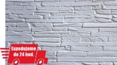 Grace PVC 3D obklad GRACE - Kremeň biely