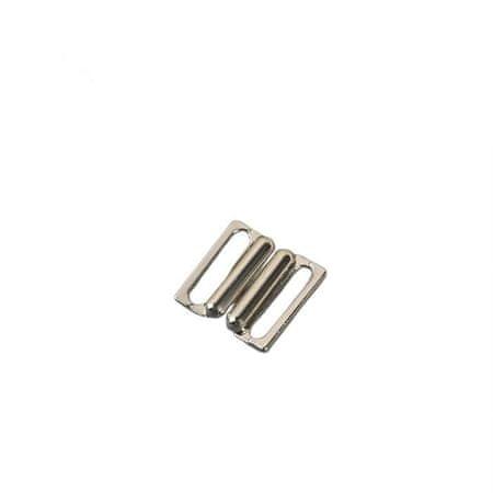 Kraftika Zapięcie na strój kąpielowy, 1,5 cm, 10 sztuk, kolor srebrny