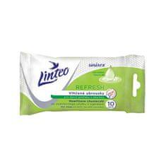 LINTEO Refresh 10 db-os nedves törlőkendő a mindennapi használatra