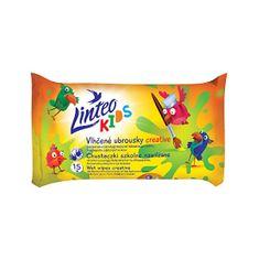 LINTEO Kids Creative 15 db nedves törlőkendő