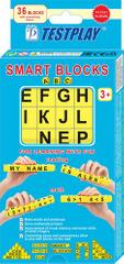TESTPLAY Chytré kostky SMART BLOCKS pro rozvoj psaní, čtení a počítání