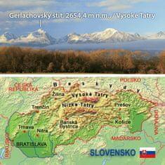 tvorme 3D magnetka Slovensko, 3DMSR001