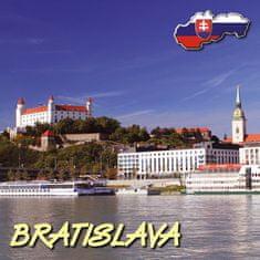 tvorme 3D magnetka Bratislava 3DMBA001 - leto/zima