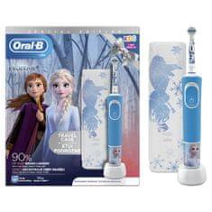 Oral-B Kids Ledeno kraljevstvo 2 dječja električna četka + putna torbica
