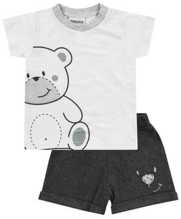 Jacky 3311000 Welcome Dječji set majica i kratkih hlača, Bijela, 86