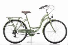 Romet Samanta 26 gradski bicikl, M-18, zelena