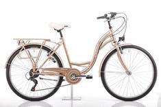 Romet Samanta 26 gradski bicikl, M-18, zlatni