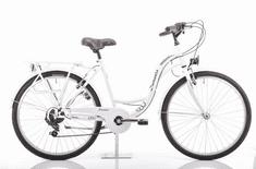 Romet Samanta 26 gradski bicikl, M-18, bijelo