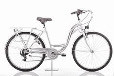 Romet Samanta 26 gradski bicikl, M-18, srebrno