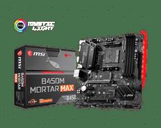 MSI B450M MORTAR MAX osnovna ploča, DDR4, SATA3, USB 3.2 Gen2, DP, AM4, mATX
