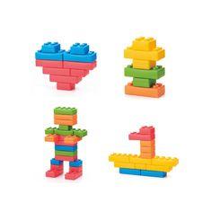 Nero Trade Sada kostek XXL: dětská sada 26 barevných XXL cihliček