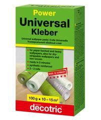 Decotric Lepidlo univerzálne Power 22110026 určené na papierové, vinylové, vliesové tapety - 100 g