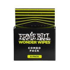 Ernie Ball 4279 Wonder Wipes Combo čistič nástroje, strun a hmatníku