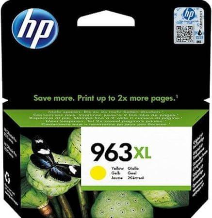 HP tinta 963XL, žuta (3JA29AE)