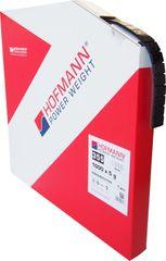 Hofmann HOFMANN – černé železné samolepící závaží v kotouči 5kg