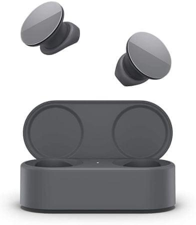 Microsoft słuchawki Surface Earbuds, ciemnoszare