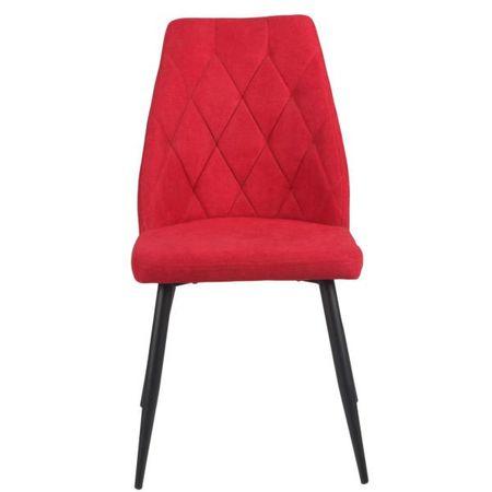 Simi stol, rdeč, 2 kos