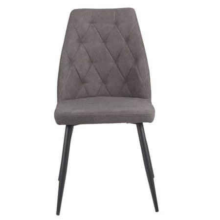 Simi stol, temno siv, 2 kos