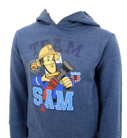 "SETINO Bluza chłopięca ""Straźak Sam"" - niebieski - 98–104 / 3–4 lata"
