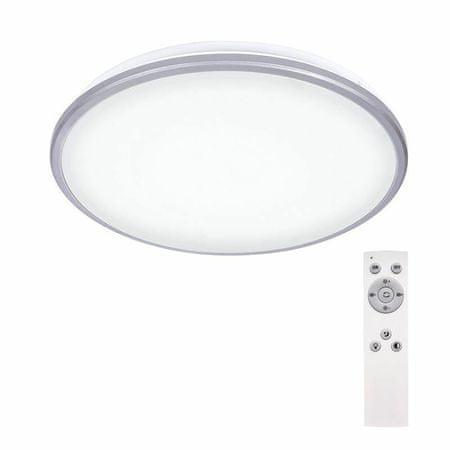 Solight Ezüst led mennyezeti lámpa, 24w, 1800lm