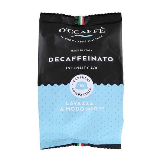 O'Ccaffé O'Ccaffé Decaffeinato - 10 ks kapsúl A MODO MIO 3/8 10 x 7g