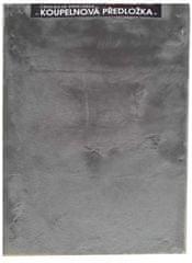 Povlečeme vše Kúpeľňové predložky Králik 50x80cm - Tmavá sivá
