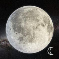 mapcards.net 3D magnetka Mesiac