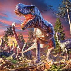 mapcards.net 3D magnetka T-Rex attack
