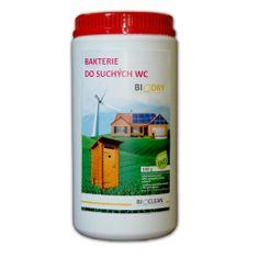 Bioclean Bakterie do suchých WC - Biodry 1kg